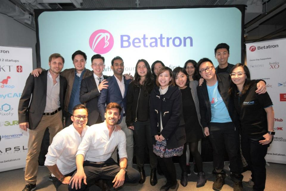 Hong Kong's Betatron announces US$500k investment per startup in 6th cohort | BEAMSTART News