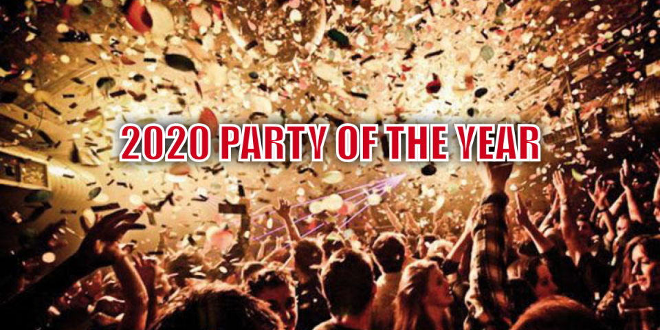 2020's *Party of the Year* for Professionals and Entrepreneurs happening this 22nd January.
