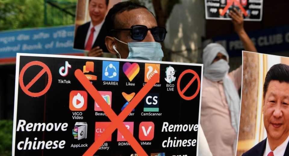 Both Apple and Google take down 59 Chinese apps banned in India.