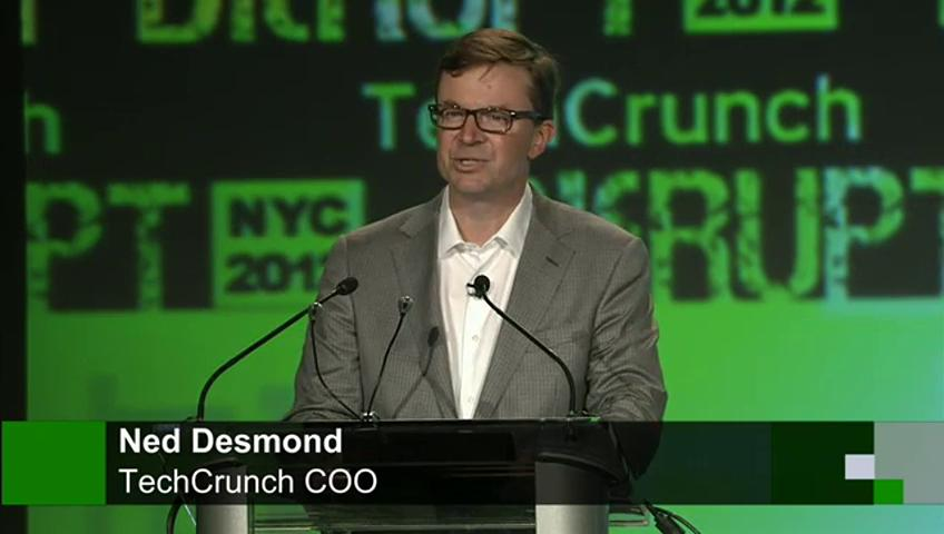TechCrunch's COO, Ned Desmond, steps down.