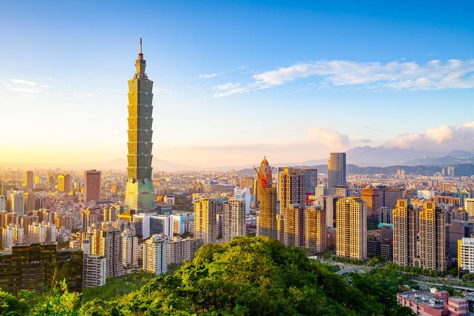 Taiwan is now allowing business travellers to enter the country.