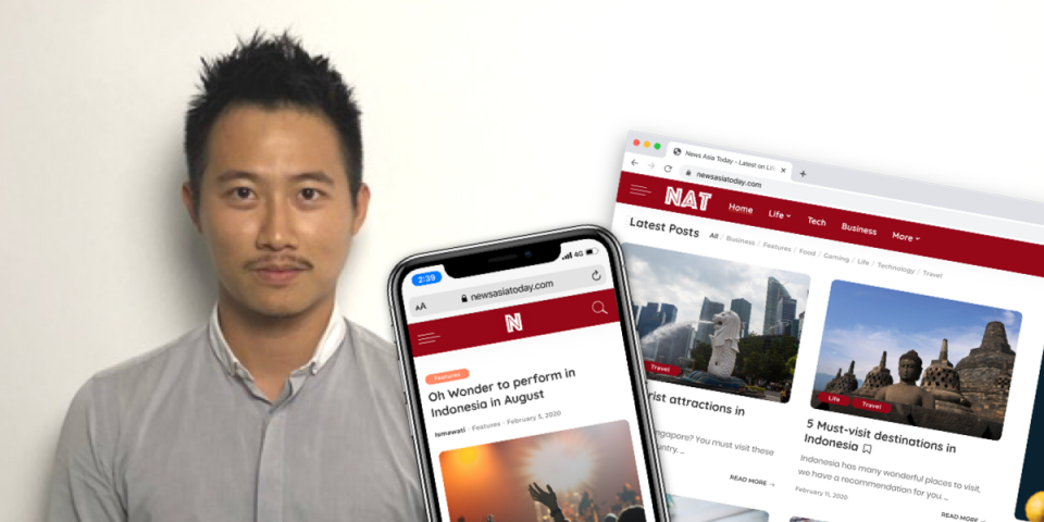 Malaysian entrepreneur launches News Asia Today to help businesses reach consumers in Asia.