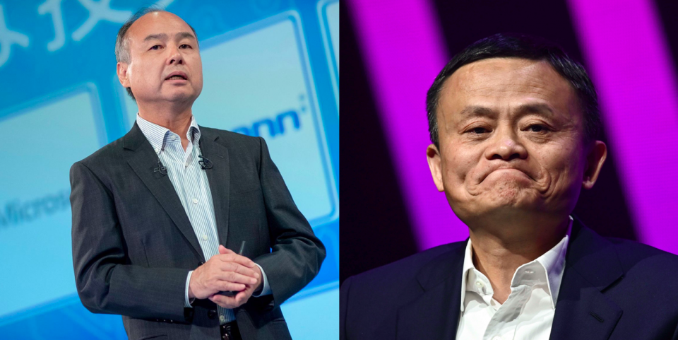 SoftBank planning to sell US$14 billion shares in Alibaba