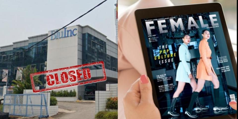 Malaysia's Blue Inc Media has closed down. | BEAMSTART News