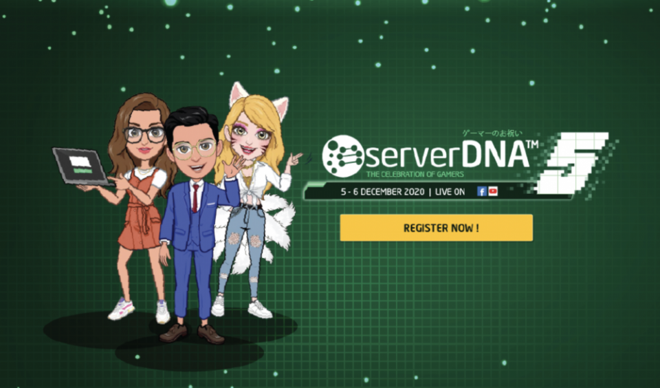 serverDNA is helping brands reach gamers; Major gaming event this 5 - 6 December | BEAMSTART News