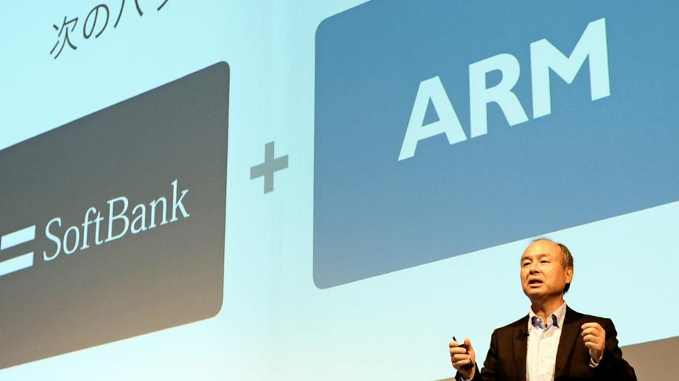 SoftBank sells ARM to Nvidia for $40 billion.