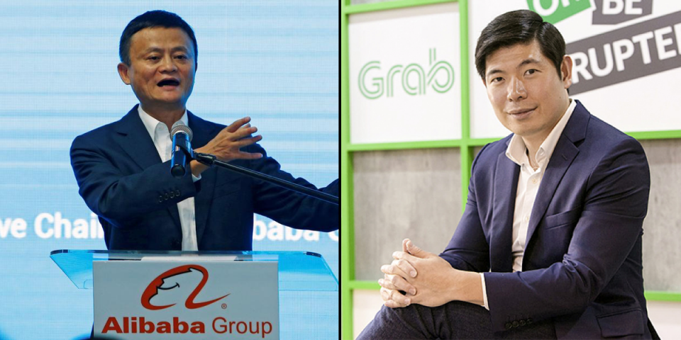 Alibaba may invest up to $3 billion in Grab.