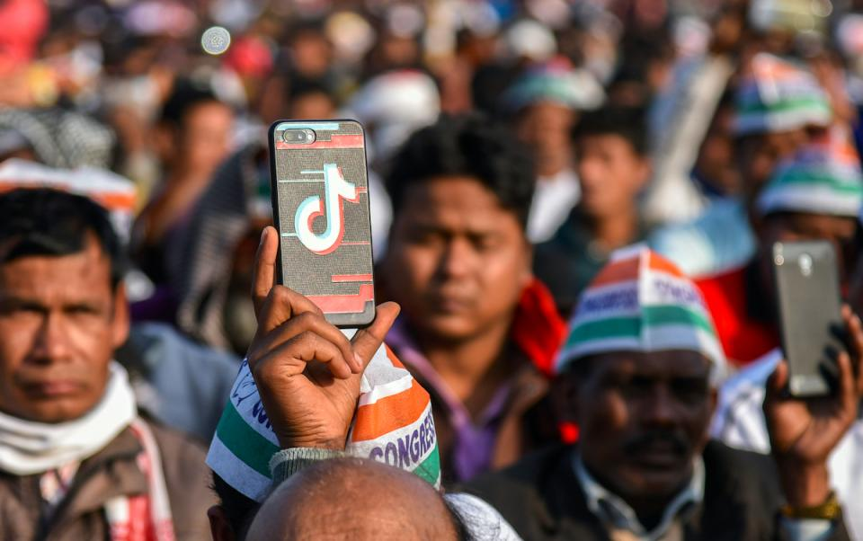 India banned TikTok; now their own apps have caught up in user numbers | BEAMSTART News