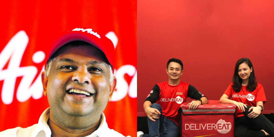 AirAsia serious about food delivery; buys DeliverEat for $9.8 million | BEAMSTART News