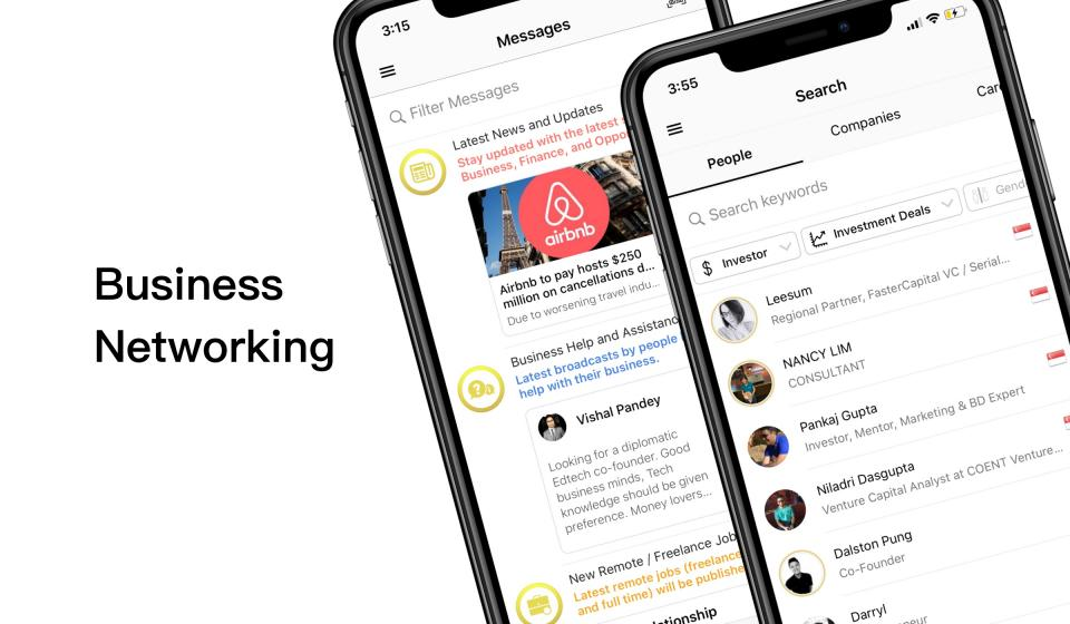 5 Free Business Networking Apps to Find Collaboration Partners and Startup Founders | BEAMSTART News