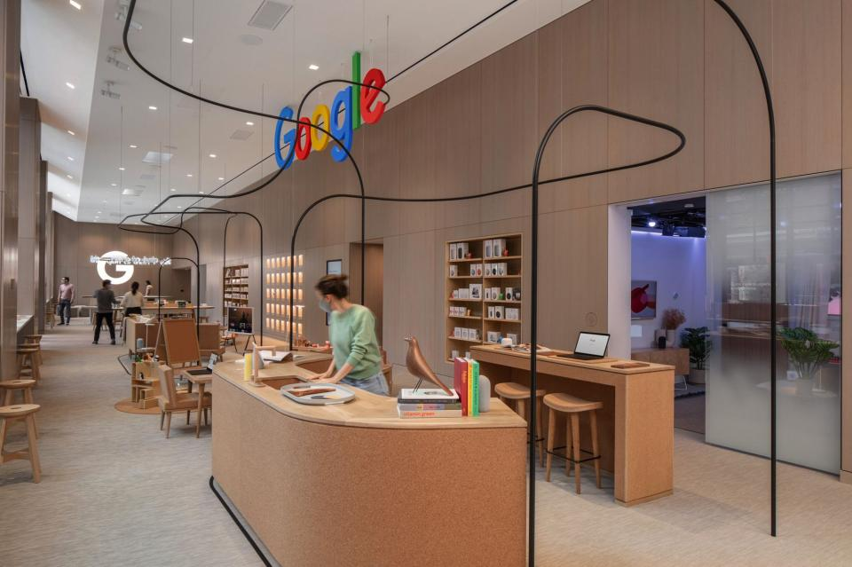 Google is opening its first 'permanent' retail store; will showcase company's products | BEAMSTART News