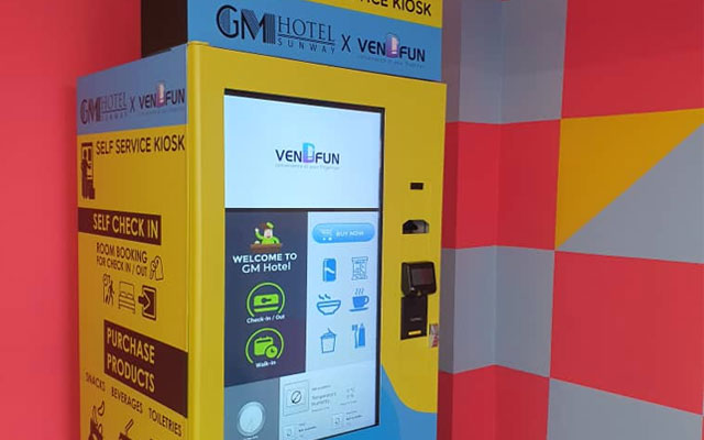 Malaysia's Vendfun launches self-service 'Hybrid Kiosks' for hotel check-ins and food ordering   BEAMSTART News