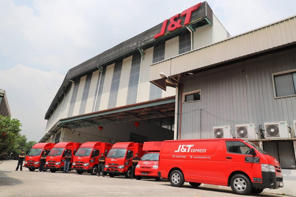 J&T Express reportedly raising $1 billion from China's Tencent at a $20 billion valuation | BEAMSTART News