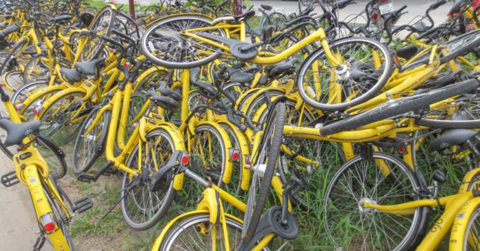Chinese bike sharing company OFO on verge of bankruptcy