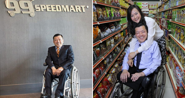 8 Inspiring Facts of 99 Speedmart's Disabled Founder Who Made It Against All Odds