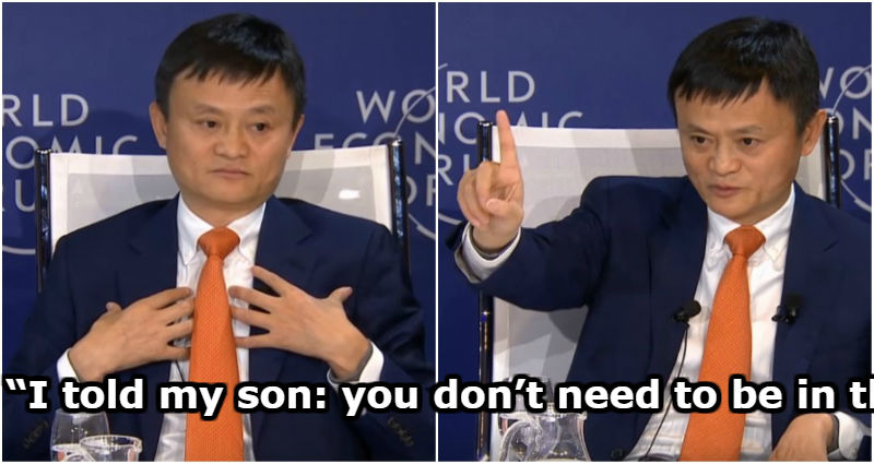 Why Jack Ma Told His Own Son Not to Be an 'A' Student in School