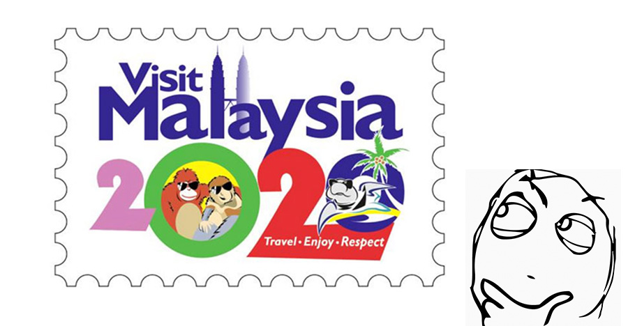 Newly created Visit Malaysia 2020 logo gets mocked by netizens | BEAMSTART News