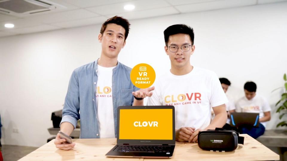 CLOVR lets you play any PC game in virtual reality (VR)