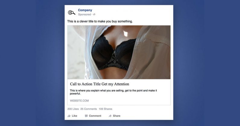 Facebook's ad policies are infuriatingly sexist