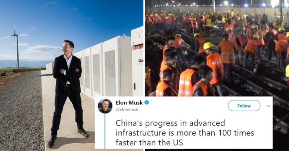 Elon Musk Admits China's Infrastructure is 100 Times Faster than America's | BEAMSTART News