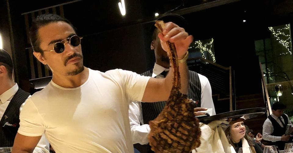 Temasek, GIC in talks to buy chunk of Salt Bae's steakhouse
