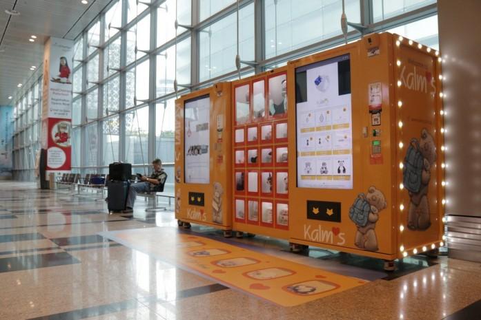 Struggling retailers turn to vending machines