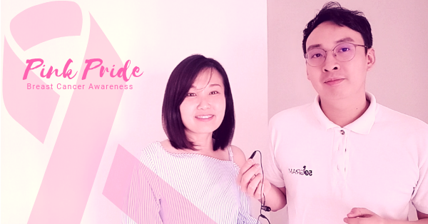 Malaysia's Project W and 50gram team up to raise awareness for breast cancer.