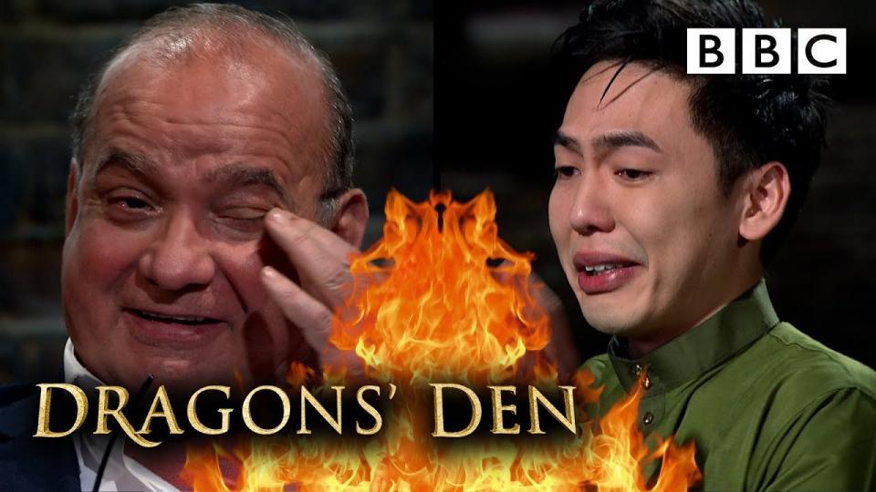 Malaysian Entrepreneur William Chew of Mak Tok raises £50,000 on BBC's Dragon's Den.   BEAMSTART News