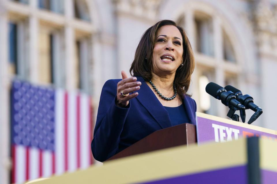 Kamala Harris Announces Campaign Stops In Early-Voting States | BEAM