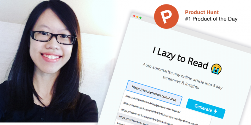 On getting featured on Product Hunt - Insights from Zoe Chew on launching products.