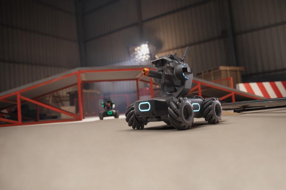 DJI gets into the battling robot business | Beamstart
