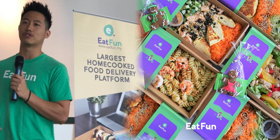 EatFun is tapping into the massive home-cooked food delivery space.