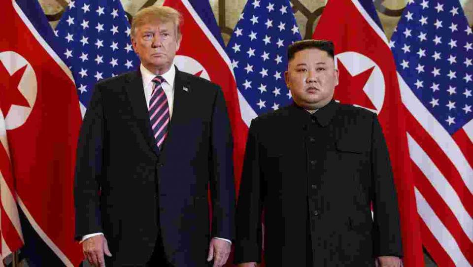 Global stocks fall as Trump Walks out of North Korea negotiations | BEAMSTART News