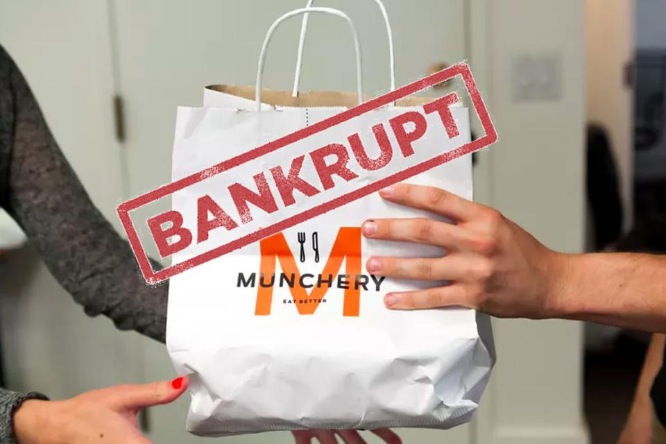 Meal Delivery Startup Munchery files for Bankruptcy
