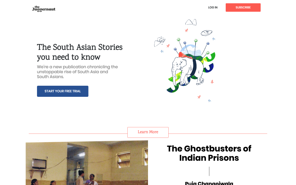 The Juggernaut is a subscription media company for the South Asian diaspora | BEAM
