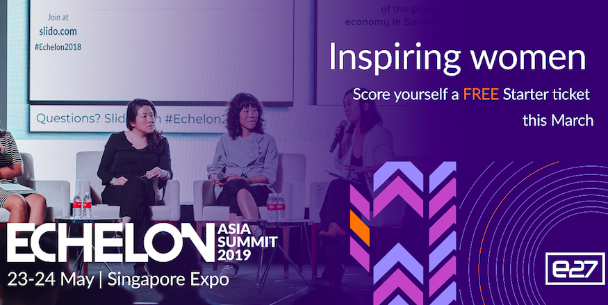 Ladies, tell us about your startup and win 5 FREE Echelon Asia Summit 2019 tickets! | BEAM