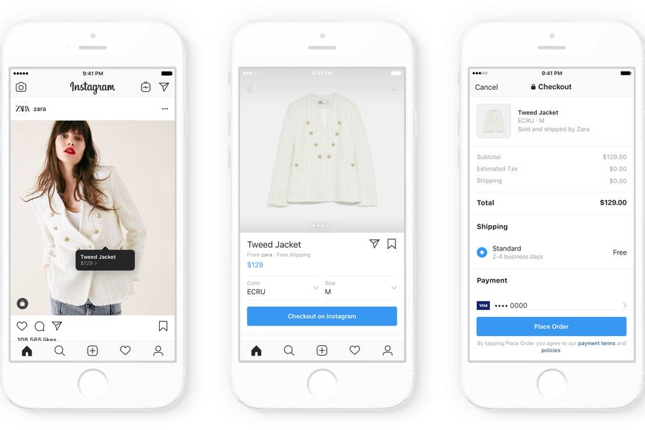 Instagram is dominating shopping — Launches checkout & payments on app