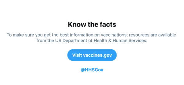 Twitter launches new search features to stop the spread of misinformation about vaccines | Beamstart