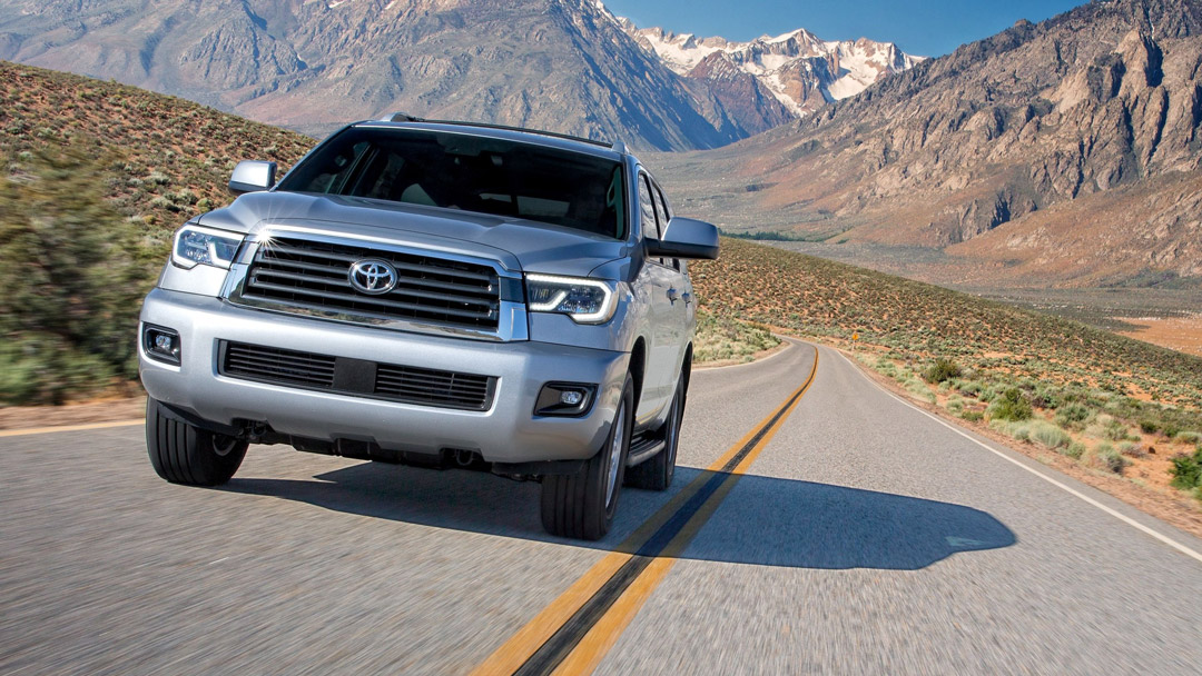 2019 Toyota Sequoia Driving