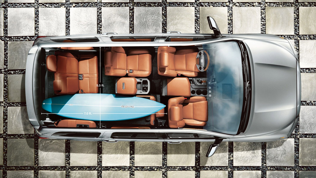 2019 Toyota Sequoia Load Space