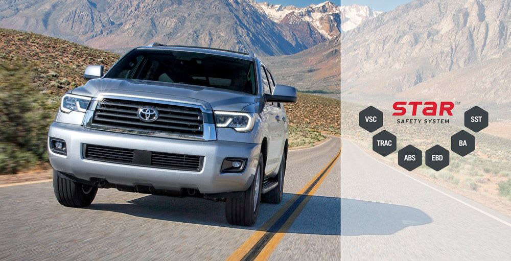 2019 Toyota Sequoia Safety