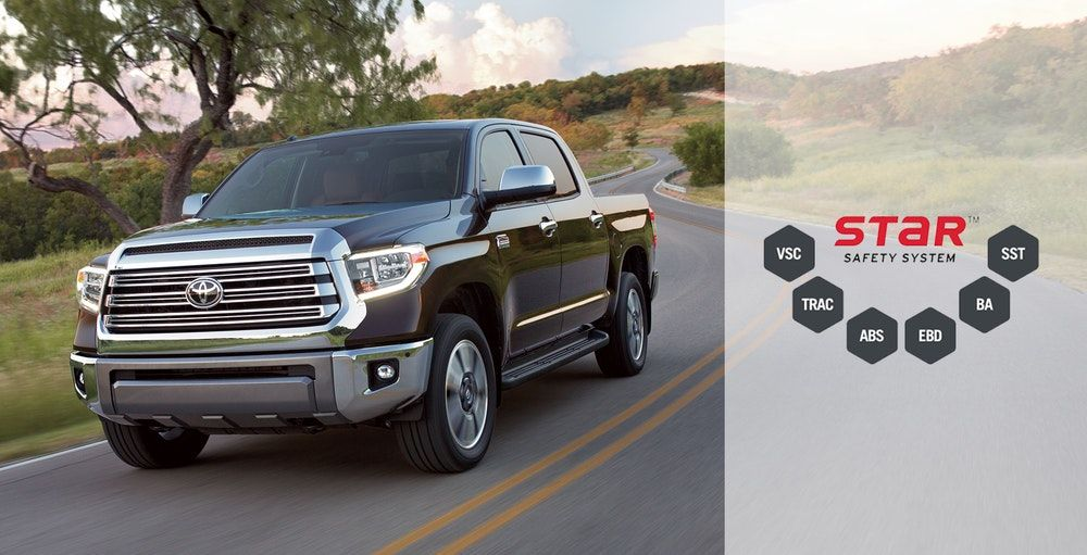 2019 Tundra Safety Features