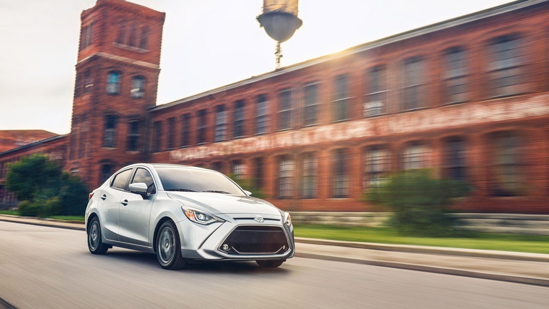 2019 Toyota Yaris Driving