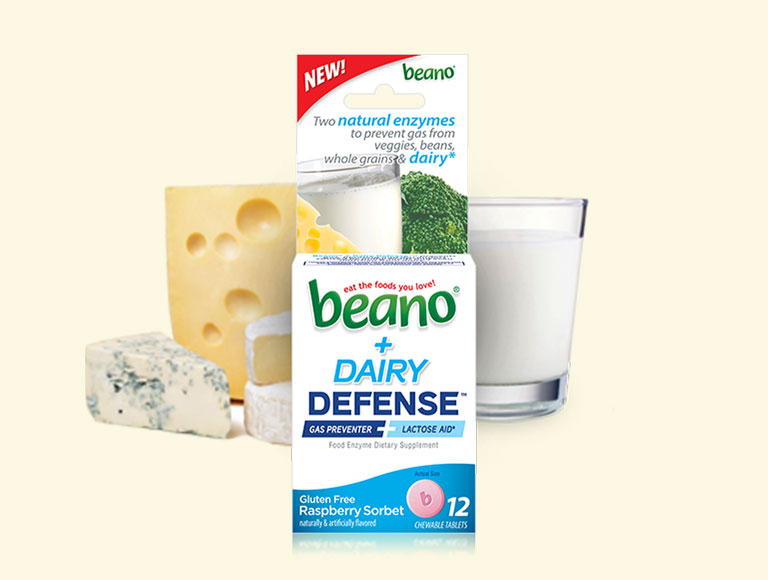 Beano® + Dairy Defense