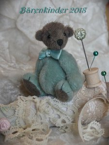 Cheerful bear 24 centimeters OOAK Teddy Doll