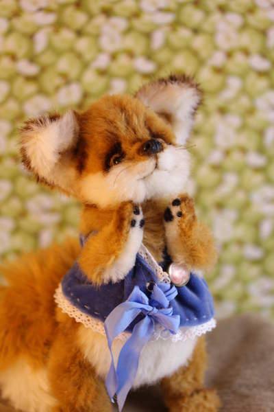 Fox Roger By Vladlena Bear Pile