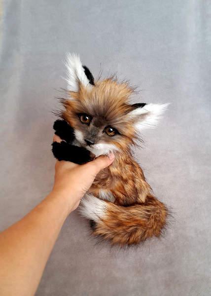 Little Fox By Vakulina Bear Pile