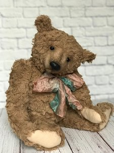 24 centimeters OOAK Teddy Doll Cheerful bear