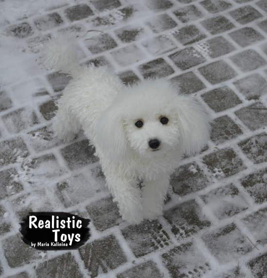 Poodle Michel By Maria Kalinina Bear Pile
