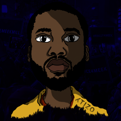 Meek Mill Face Png